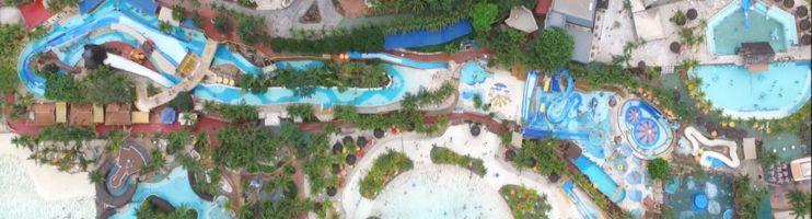 Roupa ideal para parque aquático