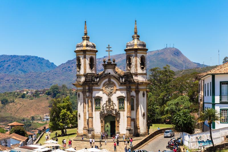 Viagens baratas pelo Brasil Ouro Preto MG
