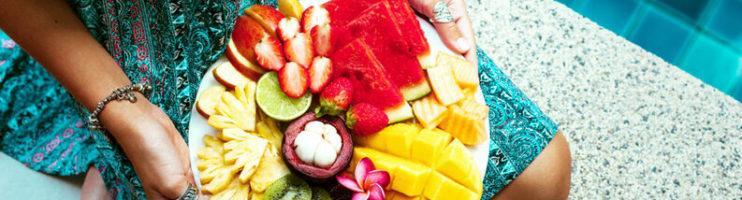 Como se alimentar em um dia de verão