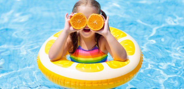 Verão é época de aproveitar muito o parque aquático